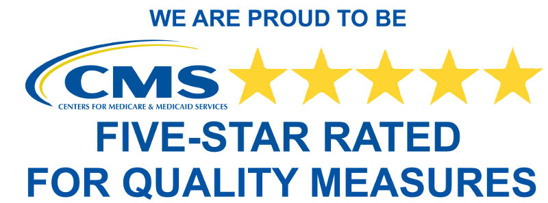 5-Star Rated for Quality Measures